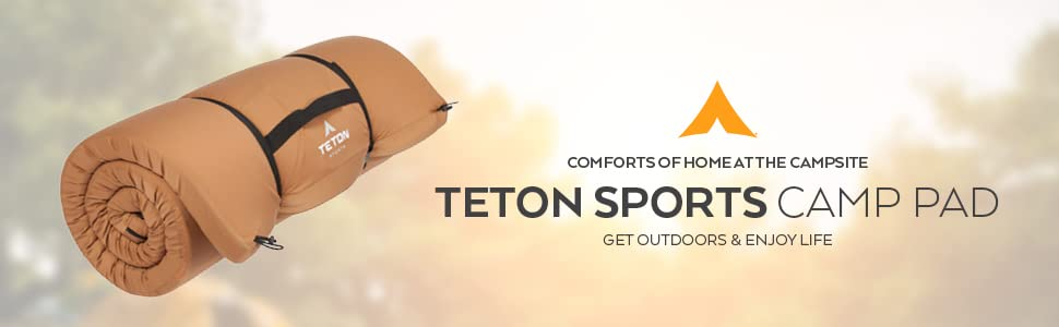 TETON Sports Camp Pad. Comforts of home at the campsite.