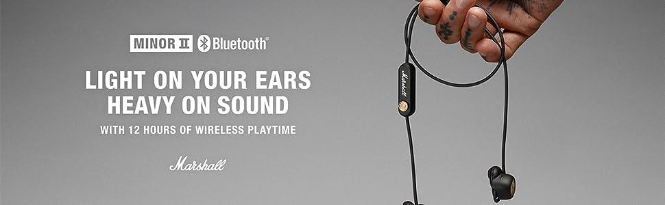 Minor II Bluetooth Headphone