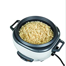 Serves up to 6 Servings of Cooked Rice
