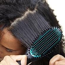 Brosse lissante power straight calor CF5820C0 tend lisse cheveux crépus frisés