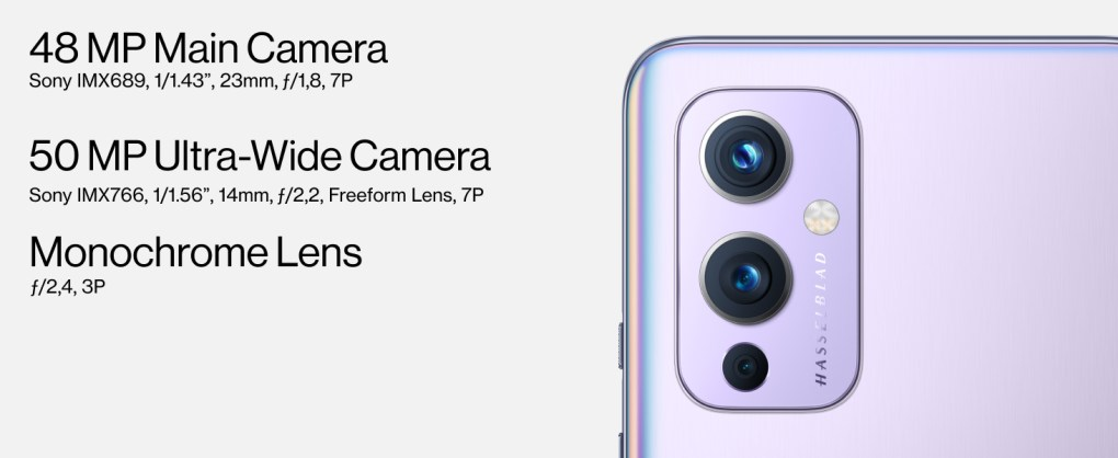 OnePlus 9 5G - Camera system