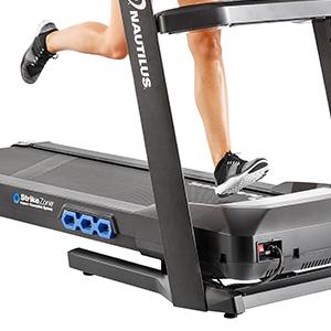 "Nautilus T616 Treadmill Running Path 20"" x 60"" Deck Powerful 3.0 CHP Motor"