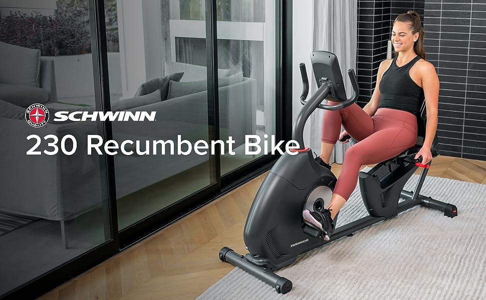 Schwinn 230 Recumbent Bike (Model Year 2020)