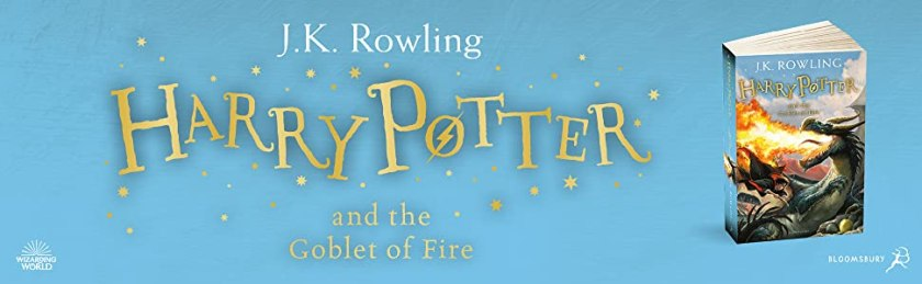 Harry Potter and the Goblet of Fire, JK Rowling, Magic, Fantasy, Bestselling Children's Book, Harry