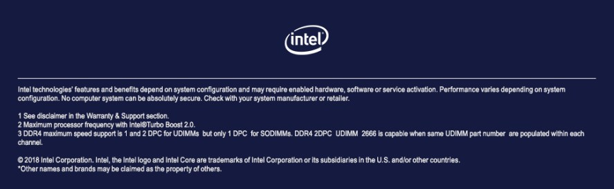 Intel Core i5-9600K processor unlocked