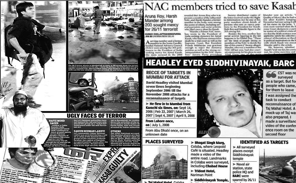 Hindu Terror, Saffron Terror, RVS Mani, 26/11 Mumbai Terror Attack, Ajmal Kasab, Home Ministry