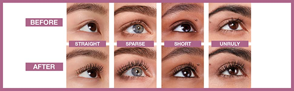 maybelline lash sensational mascara before and after us