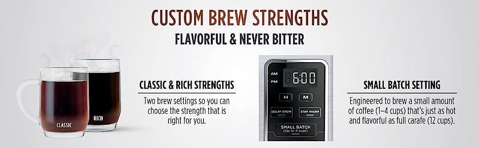 CE251, Ninja, Coffee, Brewer, 2 brew strengths