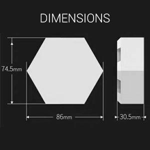 Cololight Dimensions