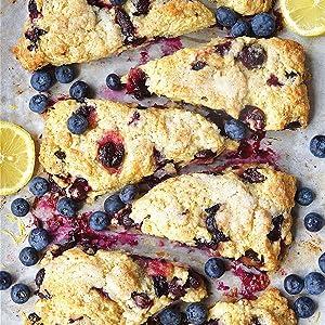 pastry, baking, king arthur baking, desserts, breakfast, cookbook, blueberries