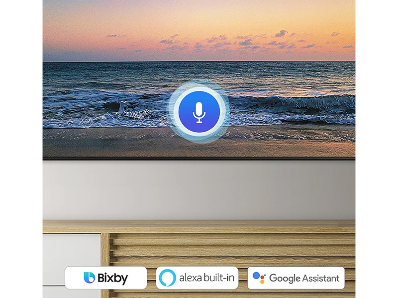 Compatible with Bixby, Alexa and Google Assistant