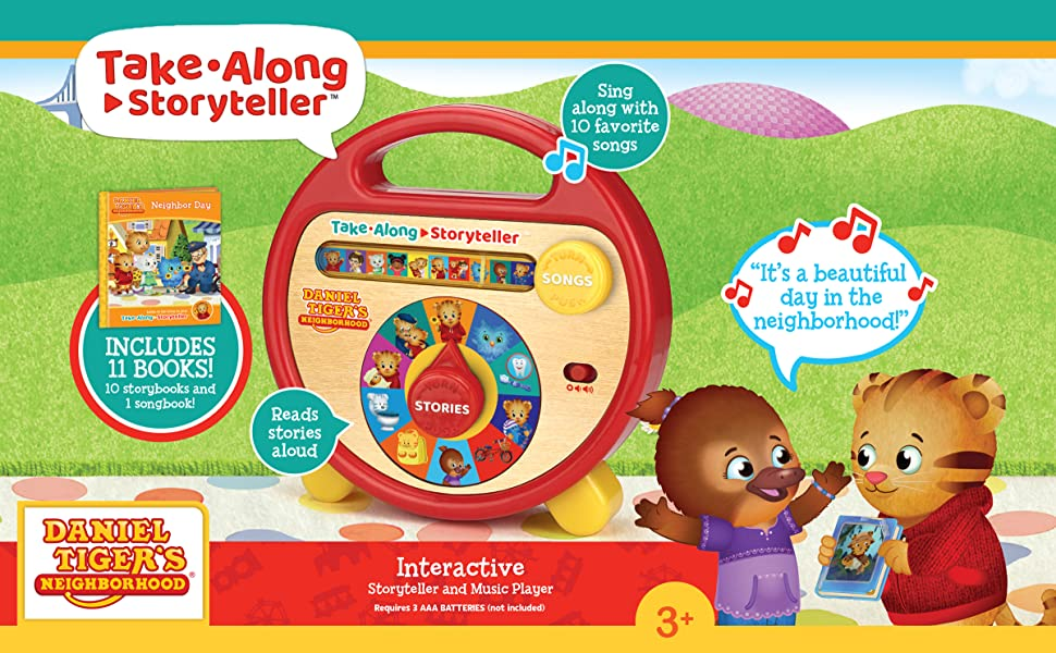 electronic readers for kids kids read along book  read me a book daniel tiger electronic reader
