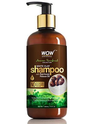 WOW Skin Science Amazon Rainforest White Clay Shampoo