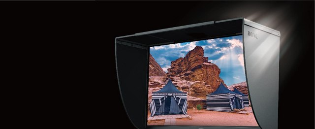 Benq_sw2700pt_photography_monitor_shading_hood_to_block_ambient_light_included