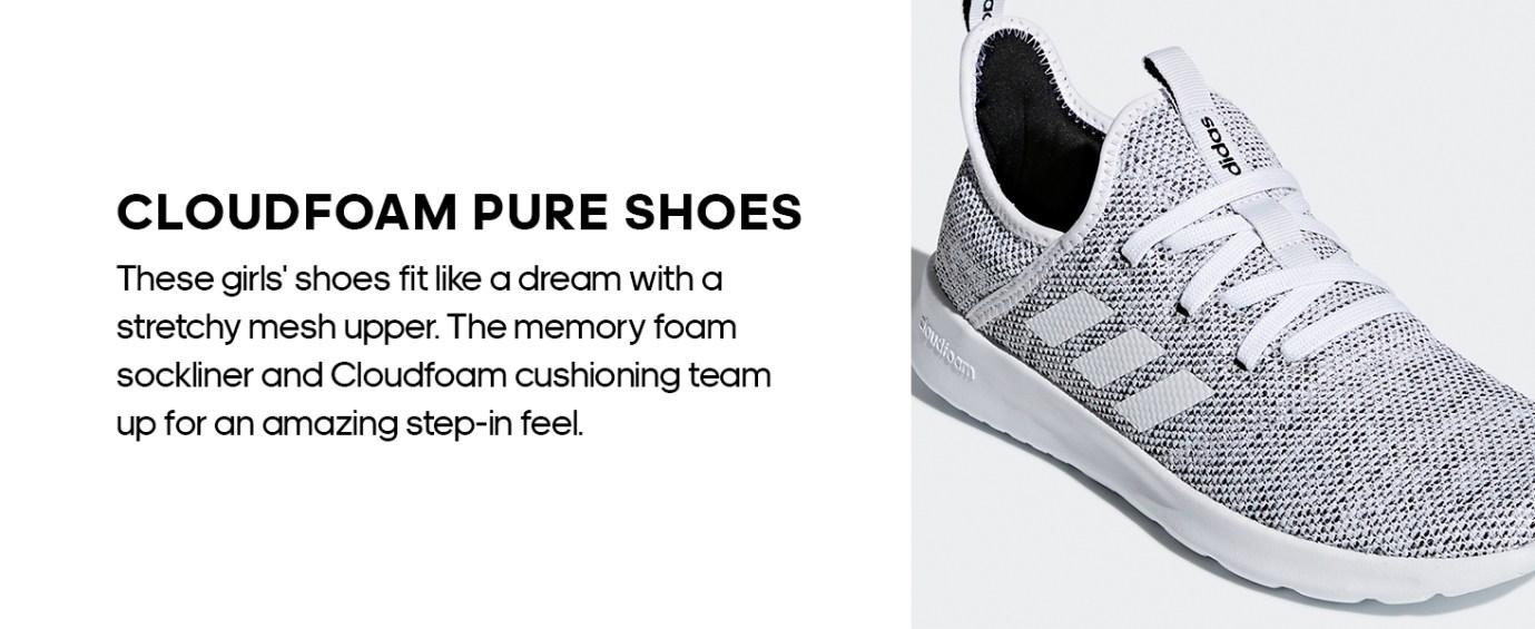 Women's, Cloudfoam, Pure, CF, Shoes
