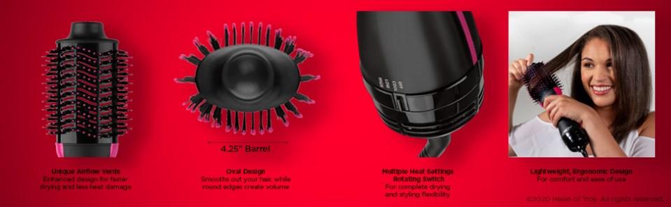 revlon; revlon one step; revlon one step volumizer; one step; hair dryer; hair dryers; hot air brush