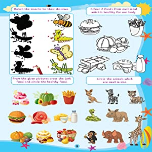 505 Activities, Kids activities, colouring, counting