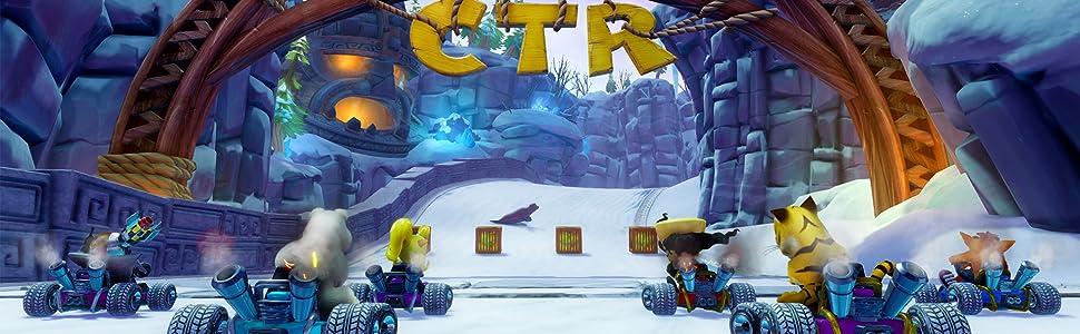Crash Team Racing, CTR, Crash Bandicoot, Racing