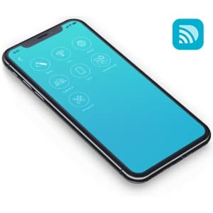 D-Link Wi-Fi app's dashboard on a phone