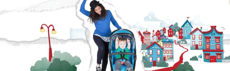 phil&teds smart single sling compact stroller