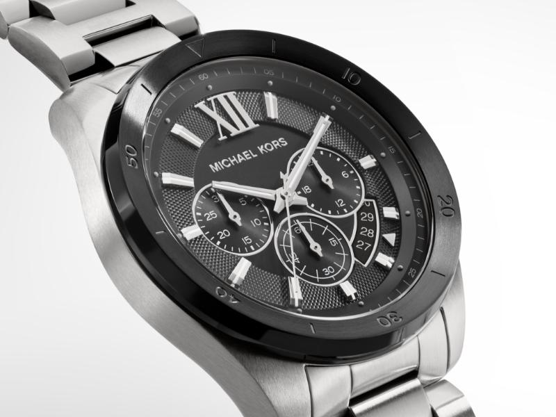 Waterproof Men's Michael Kors Silver Watch