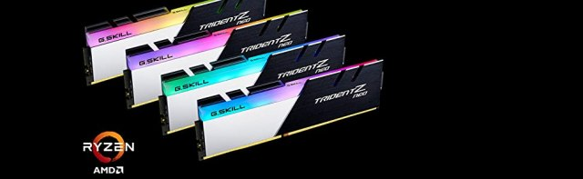 gskill trident z neo gaming performance for amd