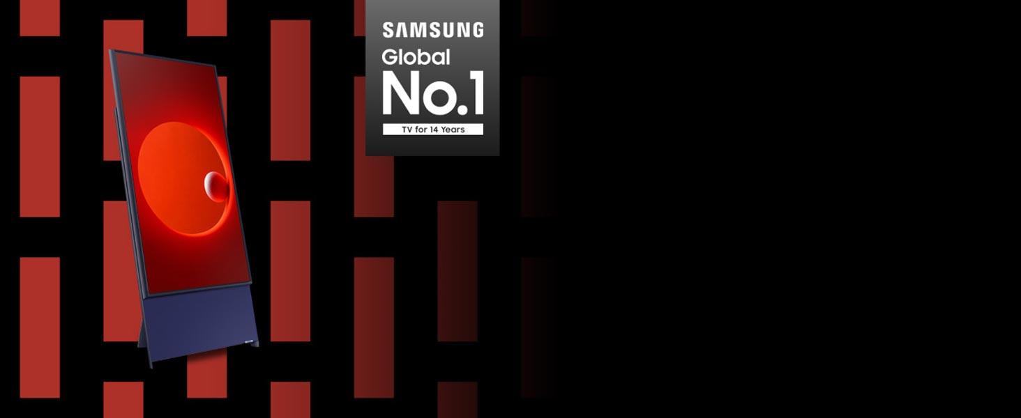 Samsung - the World's No.1 TV brand 14 years running