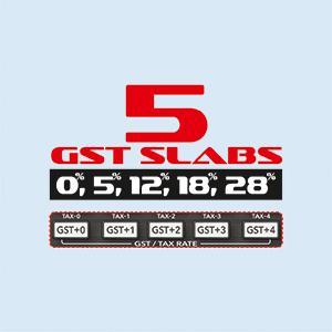 5 SLAB GST