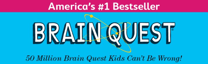 Brain Quest, bestseller, educational workbooks, workbooks, homeschool