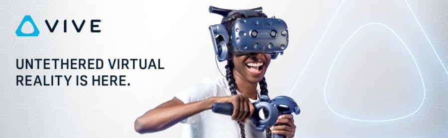 htc vive pro realidade virtual adaptador sem fio