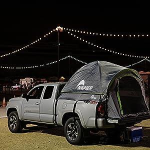 napier tent, backroadz, truck tent