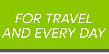 para viajar e todos os dias