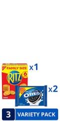 RITZ  OREO Variety Pack