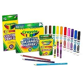 Crayola Back To School 2017 Set Grades 3-5