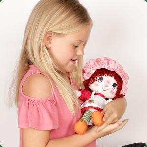 Imagem de estilo de vida de menina com boneca