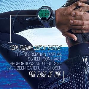 cressi, leonardo, computador de mergulho, mergulho, mergulho
