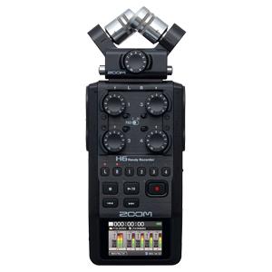 zoom, h6, handy recorder