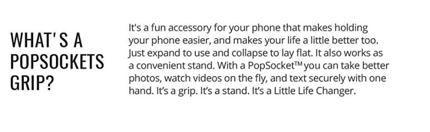 what is pop socket, accessory, phone grip, stand, re-attachable