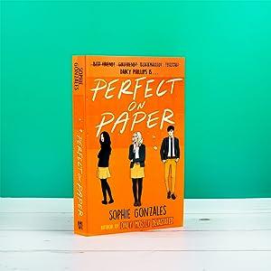 perfect on paper, ya fiction,  ya books, lgbt fiction, bisexual fiction, rom com, rom com book