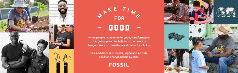Make time for good