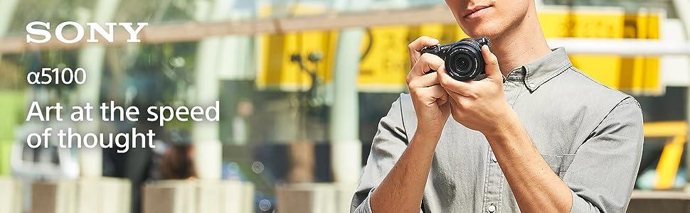 Sony Alpha ILCE5100L 24.3 MP Digital SLR Camera