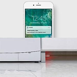 Fibaro Z-Wave Plus Flood Sensor Smart Phone Notifications for Water Detection