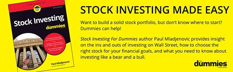 stock investing, stock investing for dummies, stock investing book, stock investing guide