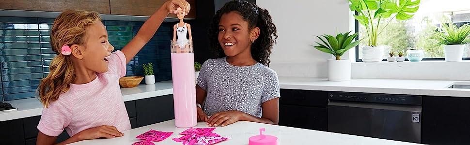 Barbie Color Reveal - Renk Değiştiren Sürpriz Barbie Bebekler Seri - 7 Sürpriz İçerir Seri 1 - GMT48