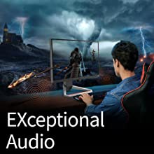 benq mobiuz ex2510 gaming monitor built-in speakers audiovisual enjoyment