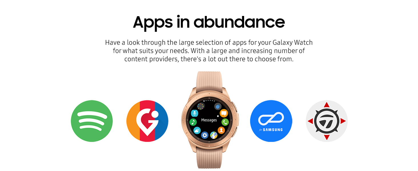 Samsung Galaxy Watch Smartwatch Rose Gold 42mm