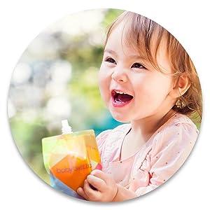 Fabricante reutilizável do puré dos malotes do comida para bebé
