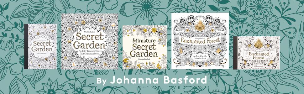Johanna Basford Colouring Books