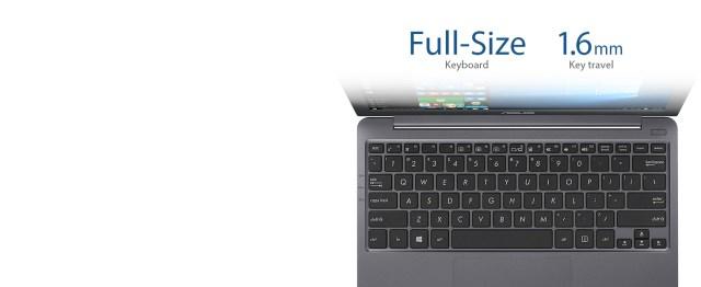 Full-Size, ergonomic Keyboard