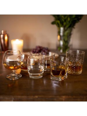 Libbey Craft Spirits Assorted Drinkware Glasses, Set of 6